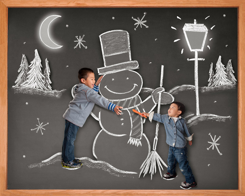 children blackboard photographer Bay Area